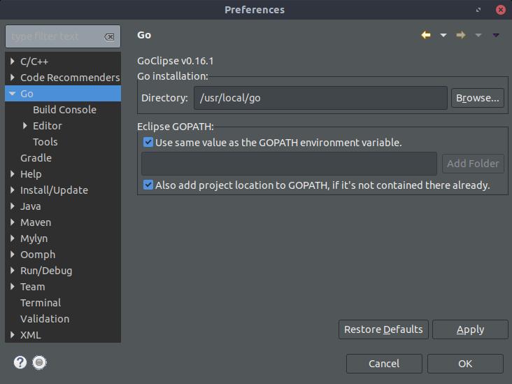 golang install ubuntu